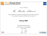2004 – Solvay Business School
